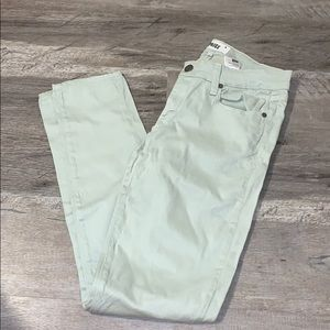 PAIGE Light Green Jeans